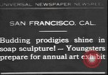 Image of soap sculptures San Francisco California USA, 1931, second 1 stock footage video 65675058951
