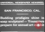 Image of soap sculptures San Francisco California USA, 1931, second 2 stock footage video 65675058951