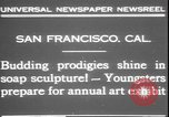 Image of soap sculptures San Francisco California USA, 1931, second 3 stock footage video 65675058951