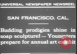 Image of soap sculptures San Francisco California USA, 1931, second 4 stock footage video 65675058951