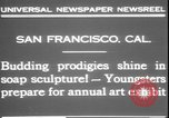 Image of soap sculptures San Francisco California USA, 1931, second 7 stock footage video 65675058951