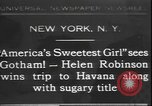 Image of America's sweetest girl New York United States USA, 1931, second 1 stock footage video 65675058952