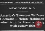 Image of America's sweetest girl New York United States USA, 1931, second 3 stock footage video 65675058952