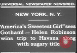Image of America's sweetest girl New York United States USA, 1931, second 4 stock footage video 65675058952