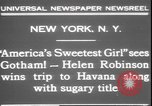 Image of America's sweetest girl New York United States USA, 1931, second 5 stock footage video 65675058952
