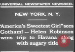 Image of America's sweetest girl New York United States USA, 1931, second 7 stock footage video 65675058952