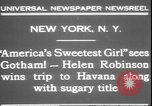 Image of America's sweetest girl New York United States USA, 1931, second 8 stock footage video 65675058952