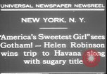 Image of America's sweetest girl New York United States USA, 1931, second 9 stock footage video 65675058952