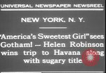 Image of America's sweetest girl New York United States USA, 1931, second 10 stock footage video 65675058952
