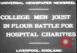 Image of students clash Liverpool England, 1931, second 2 stock footage video 65675058955