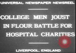 Image of students clash Liverpool England, 1931, second 3 stock footage video 65675058955