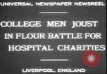 Image of students clash Liverpool England, 1931, second 5 stock footage video 65675058955