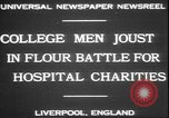 Image of students clash Liverpool England, 1931, second 7 stock footage video 65675058955