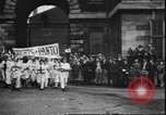 Image of students clash Liverpool England, 1931, second 9 stock footage video 65675058955