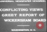 Image of George W Wickersham Washington DC USA, 1931, second 1 stock footage video 65675058956