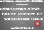 Image of George W Wickersham Washington DC, 1931, second 2 stock footage video 65675058956