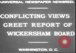 Image of George W Wickersham Washington DC USA, 1931, second 5 stock footage video 65675058956