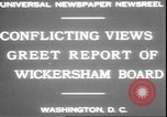 Image of George W Wickersham Washington DC USA, 1931, second 6 stock footage video 65675058956