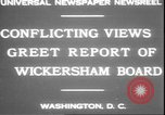 Image of George W Wickersham Washington DC, 1931, second 8 stock footage video 65675058956