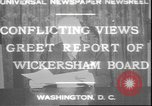 Image of George W Wickersham Washington DC, 1931, second 9 stock footage video 65675058956