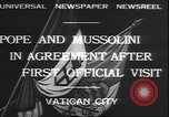 Image of Benito Mussolini Rome Italy, 1932, second 2 stock footage video 65675058957