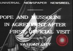 Image of Benito Mussolini Rome Italy, 1932, second 6 stock footage video 65675058957