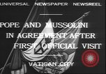 Image of Benito Mussolini Rome Italy, 1932, second 7 stock footage video 65675058957