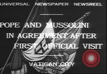 Image of Benito Mussolini Rome Italy, 1932, second 8 stock footage video 65675058957