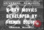 Image of X ray machine Paris France, 1935, second 1 stock footage video 65675058974