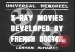 Image of X ray machine Paris France, 1935, second 9 stock footage video 65675058974