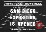 Image of international exposition San Diego California USA, 1935, second 3 stock footage video 65675058975