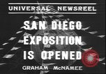 Image of international exposition San Diego California USA, 1935, second 5 stock footage video 65675058975