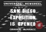 Image of international exposition San Diego California USA, 1935, second 8 stock footage video 65675058975