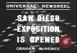 Image of international exposition San Diego California USA, 1935, second 9 stock footage video 65675058975