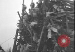 Image of wooden structure Corvallis Oregon USA, 1935, second 5 stock footage video 65675058981