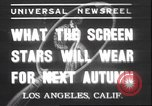 Image of models display Los Angeles California USA, 1937, second 1 stock footage video 65675058988