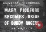 Image of Mary Pickford Bel Air California USA, 1937, second 1 stock footage video 65675058991