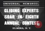 Image of gliders Elmira New York USA, 1937, second 2 stock footage video 65675058994