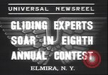 Image of gliders Elmira New York USA, 1937, second 7 stock footage video 65675058994