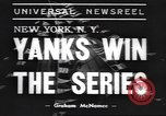 Image of New York Yankees New York United States USA, 1938, second 7 stock footage video 65675058999
