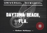 Image of Motorcycle Road Classic Daytona Beach Florida USA, 1939, second 7 stock footage video 65675059009