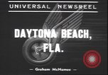 Image of Motorcycle Road Classic Daytona Beach Florida USA, 1939, second 8 stock footage video 65675059009