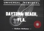 Image of Motorcycle Road Classic Daytona Beach Florida USA, 1939, second 10 stock footage video 65675059009