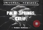 Image of underwater wrestling Palm Springs California USA, 1939, second 1 stock footage video 65675059010