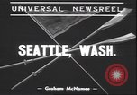 Image of University of Washington Seattle Washington USA, 1939, second 2 stock footage video 65675059011