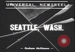 Image of University of Washington Seattle Washington USA, 1939, second 3 stock footage video 65675059011