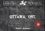 Image of Governor General Cambridge Ottawa Ontario Canada, 1940, second 1 stock footage video 65675059015