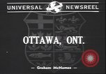 Image of Governor General Cambridge Ottawa Ontario Canada, 1940, second 2 stock footage video 65675059015