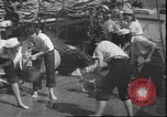 Image of girls scout mariners Atlantic Ocean, 1940, second 11 stock footage video 65675059021