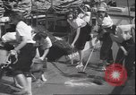 Image of girls scout mariners Atlantic Ocean, 1940, second 12 stock footage video 65675059021
